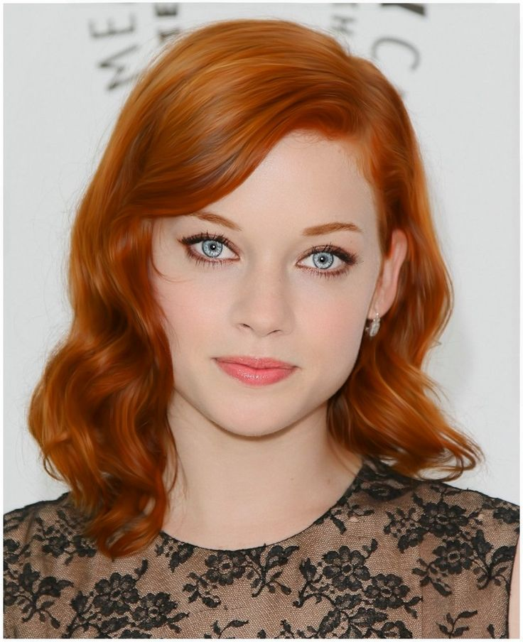 Jane Levy. Love her hair.