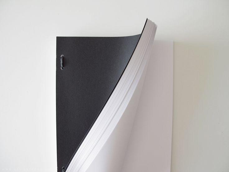 How to bind your own large sketchbook (DIY Tutorial)