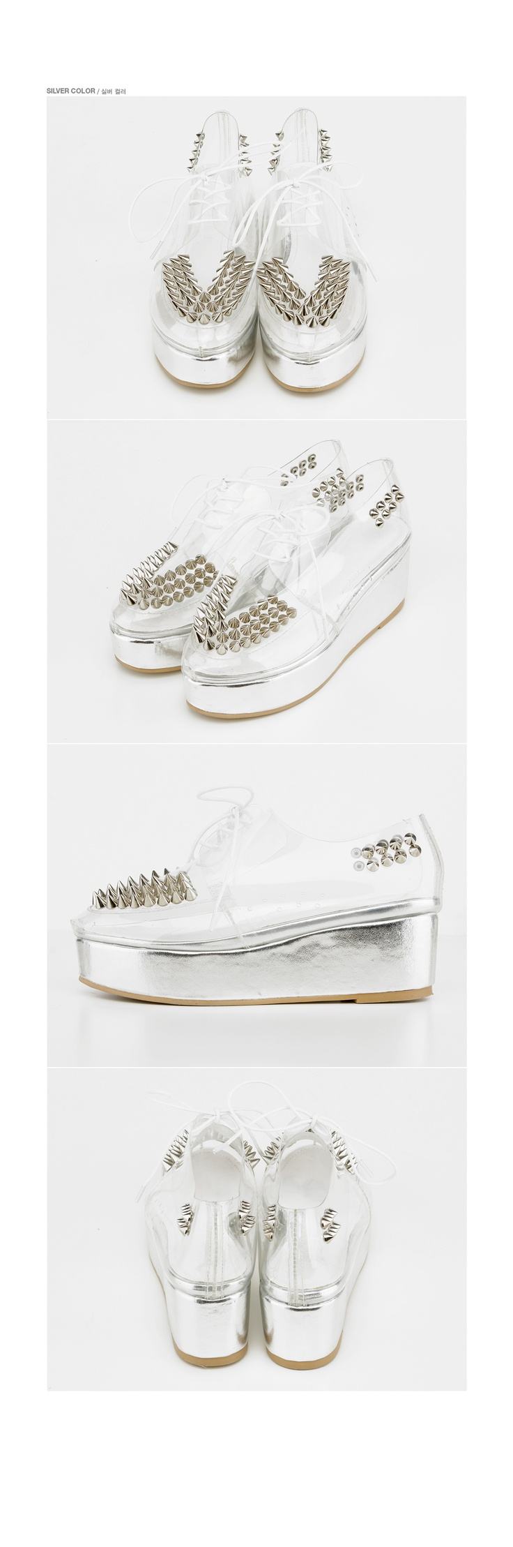 transparent creepers shoes