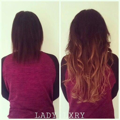 Deze dame wou graag langer en voller haar. Er zitten 5 banen in. Door 2 kleuren te mixen is dit effect bereikt. LADY LXRY HAAR, 1 pak kleur 1b, 40 cm & 1 pak kleur 8, 55 cm. Het is bijgeknipt en gekruld. (Achterkant)  #Blond #braid #brunette #extensions #enschede #hairweave #haarweave #haar #haarextensions #haarverlenging #hair #hairextensions #instahair #korthaar #longhair #langhaar #ladylxryhaar #ladylxry #Overijssel #twente #virginhaar #virginhair #volume #verlenging #weavehaar #weave…