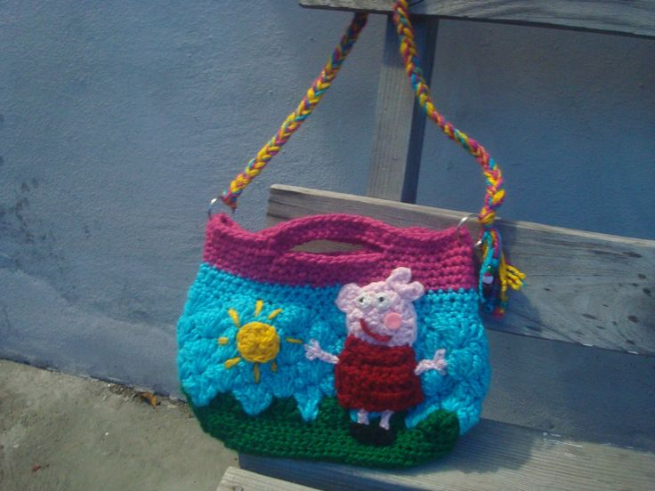 How To Crochet Peppa Pig Purse Bag Free Pattern Tutorial By Marifu6a : 17 Best images about Crochet on Pinterest Free pattern ...