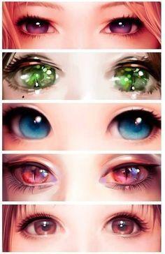 Augen zeichnen –