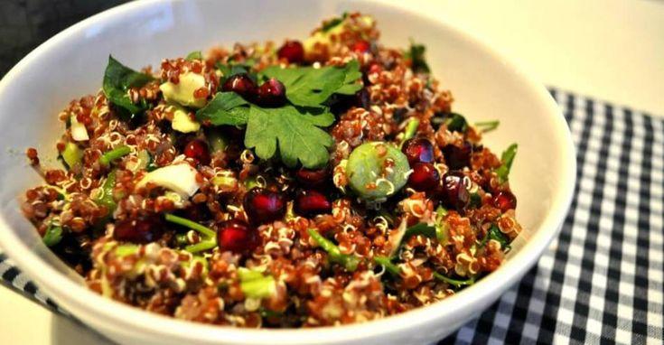 Recept: Kip quinoa met zongedroogde tomaten