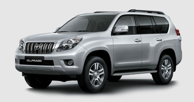 The Toyota Land Cruiser Prado is our large/luxury SUV model. It seats 5-7 people, with 6-8 pieces of luggage.     This vehicle has limited availability. Please call (876) 926-8021 or 1-800-348-5398 (Toll Free from the US). You may also email us at info@avis.com.jm to reserve or for more information.