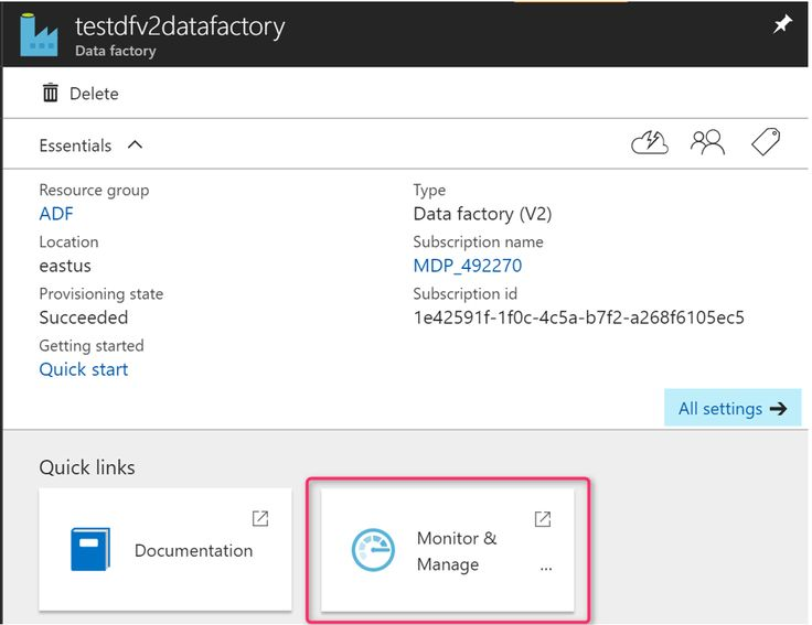 Azure Data Factory V2: visual monitoring added to public preview