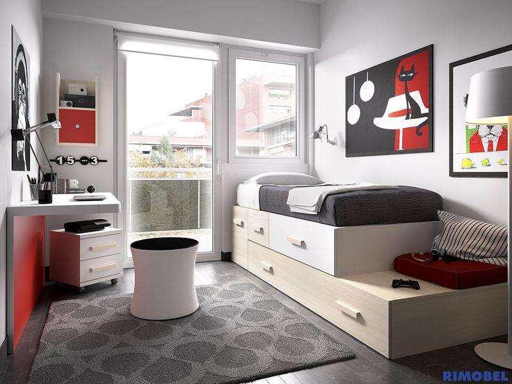 H103_habitacion ideal para el pequeño adulto de la casa #SystemQB #habitacion