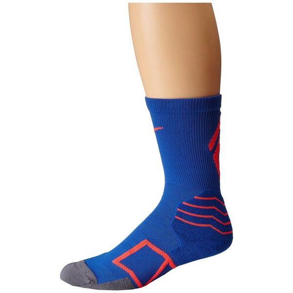 Nike Elite Baseball Crew Sock Crew Cut Socks ($18) ❤ liked on Polyvore featuring intimates, hosiery, socks, moisture wicking socks, crew socks, nike, wicking socks and cuff socks