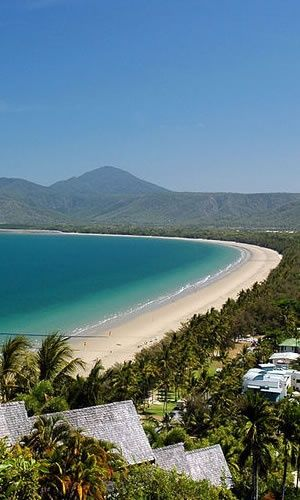 Port Douglas - view from top of Wharf Street