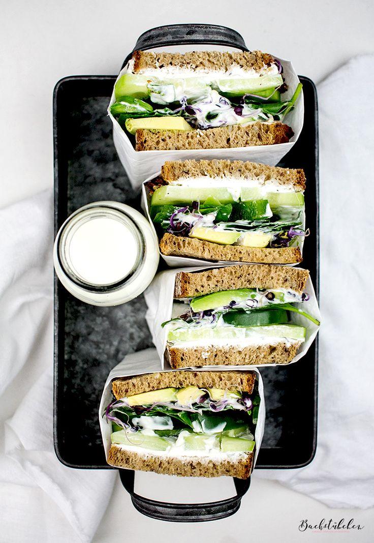 Volle Stulle: Wir starten mit einem Happy-Healthy-Green-Sandwich in die neue Woche