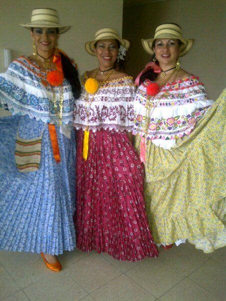 La Pollera de Panama: Montunas, vestido de diario.