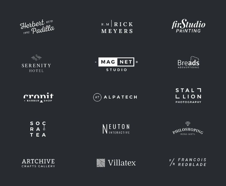 100+ free creative and professional logo templates. This compilation contains a wide variety of styles and themes! Commercial use included!