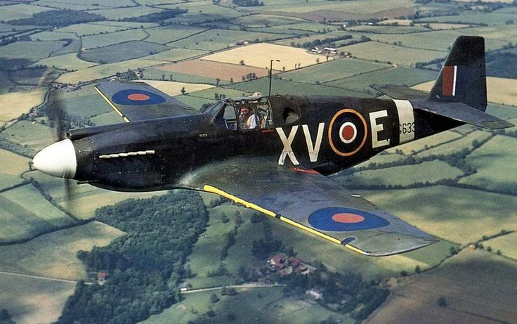North American Mustang 1 2 Squadron, Royal Air Force