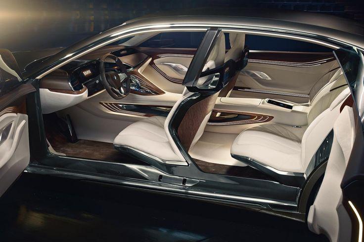 BMW Vision Концепция будущего роскошь делают нас дебют галечный пляж