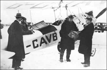 January 2: Canadian flying ace Wop May and pilot Vic Horner left Edmonton in an…