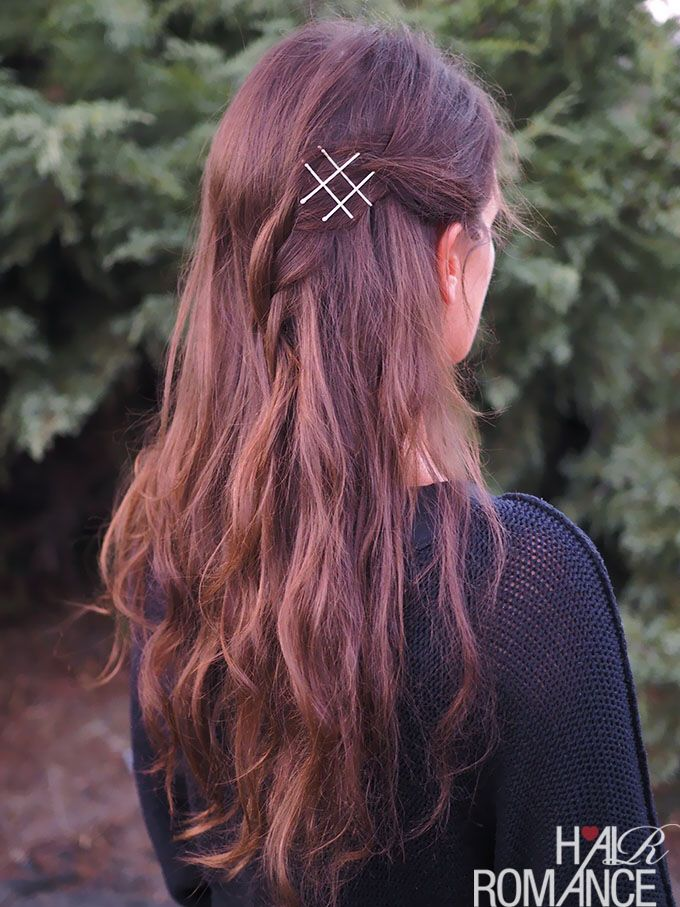 Fun things with bobby pins                                                                                                                                                                                 More