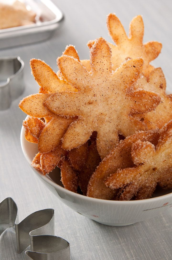 Fried Cinnamon Sugar Tortillas. When I want churros and there are none, I reach for these chips.