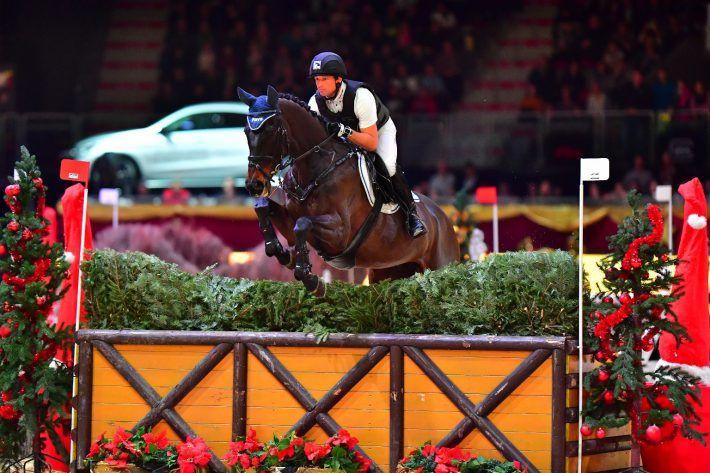 #amadeushorseindoors #placetobe #eventing Dreifach-Olympiasieger Michael Jung ist in Salzburg bereits Stammgast. © Im|press|ions - Daniel Kaiser