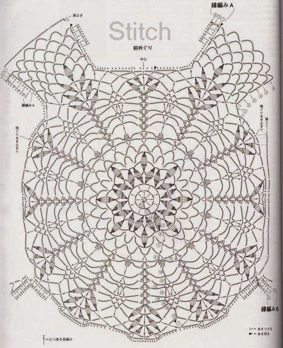 113 best Patrones images on Pinterest | Crochet patterns, Knit ...