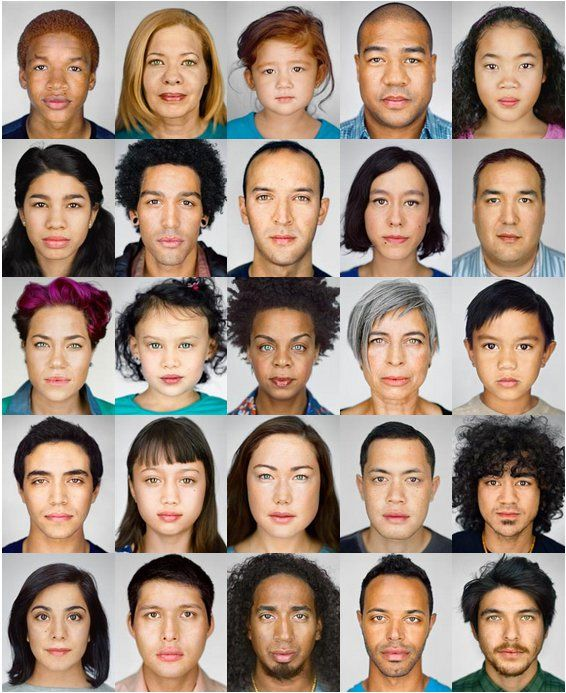 The changing faces of America http://ngm.nationalgeographic.com/2013/10/changing-faces/schoeller-photography #multiethnic #multiracial