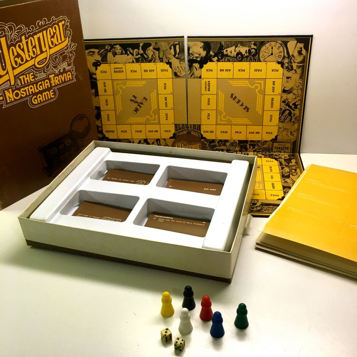 Yesteryear, The Nostalgia Trivia Game With Catagories - 1973 by vintagetoolbox on Etsy