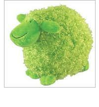 Many sheep fill Mem Fox's cozy book, Where Is the Green Sheep?. Blue sheep and red sheep, thin sheep and wide sheep, near sheep and far sheep. But where is the green sheep?Well, we have him! Our sleepy and super-soft green sheep is a perfect toy to cuddle up with at bedtime, naptime, or any time a comfy companion is needed.Safe for all ages, perfect for ages newborn to 4.