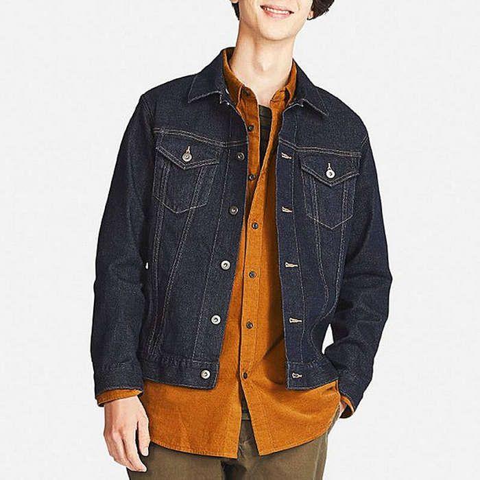 da3ac379e8 Rank   Style - UNIQLO Men Denim Jacket  rankandstyle