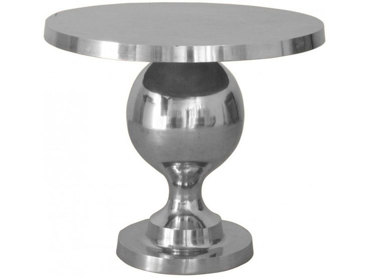Stolik Kawowy Rockstar srebrny — Ławy, Stoliki kawowe — KARE® Design