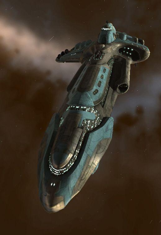 The Vagabond. Spaceship concept