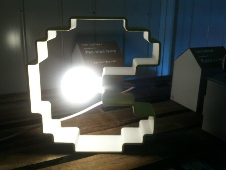 The Pac-Lamp #fuorisalone #milano #design #pacman