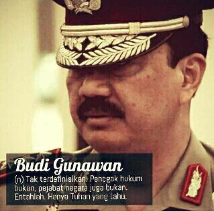 Budi Gunawan... #saveKPK