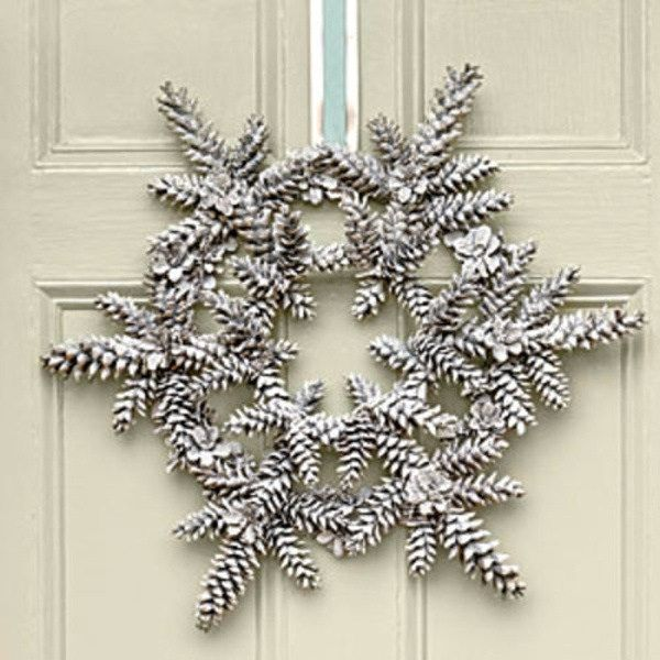 Pretty Winter Crafts using Pinecones Crafts Pinterest