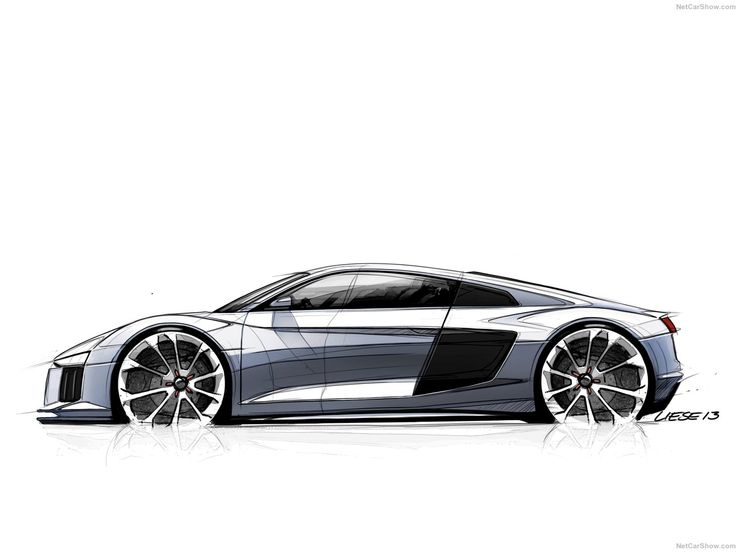 Audi R8 Sketches Pinterest Sketches Car Sketch And Cars