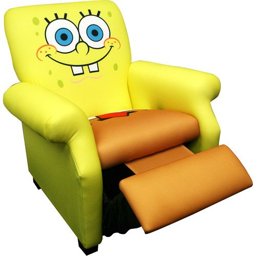 Nickelodeon   SpongeBob SquarePants Deluxe Recliner. So Awesome!