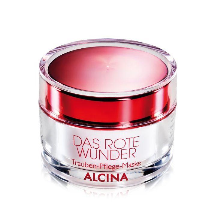 Alcina - Das Rote Wunder Trauben-Pflege-Maske