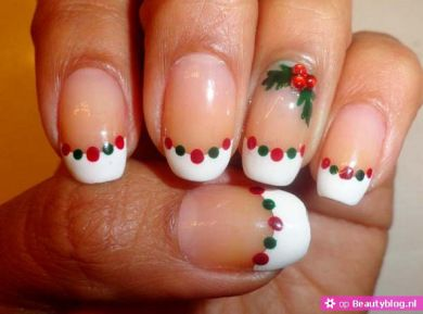 Kerst nail art 18