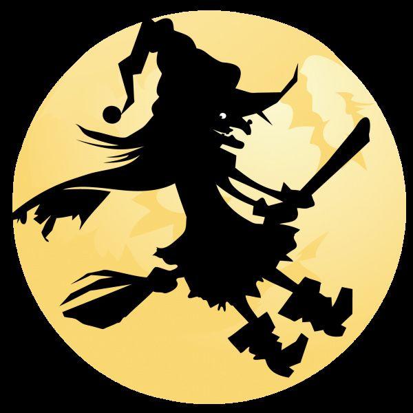 Sorcière Halloween Dessin