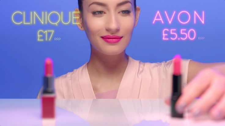 Shop at: www.avon.uk.com/store/dota   New mark. Epic Lipstick   Watch our new TV advert #SmarterBeauty