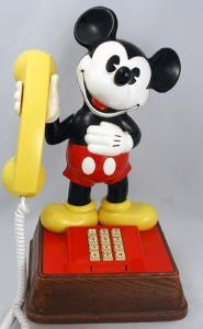 The Mickey Mouse Phone - 1970's Touch Tone