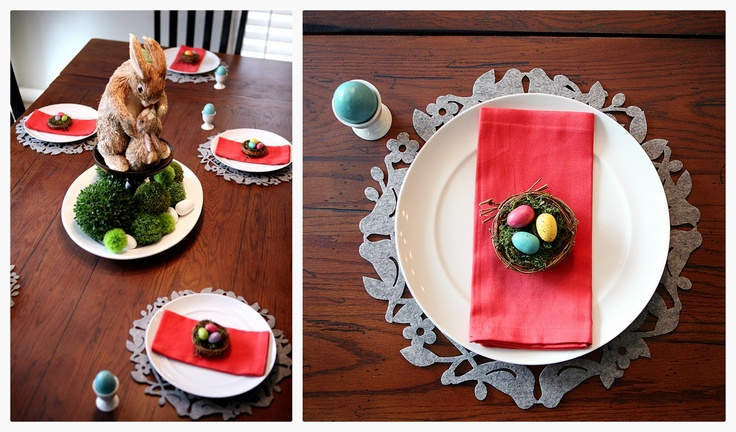 Easter Tablescape with Cost Plus World Market - Eighteen25 >>  #WorldMarket Easter Style Hunt Sweepstakes. Enter to win a 1K World Market gift card.