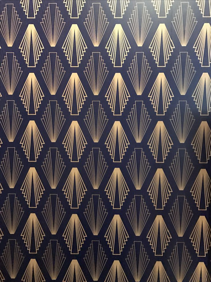 Texture. in 2019 | Art deco wallpaper, Art deco design ...