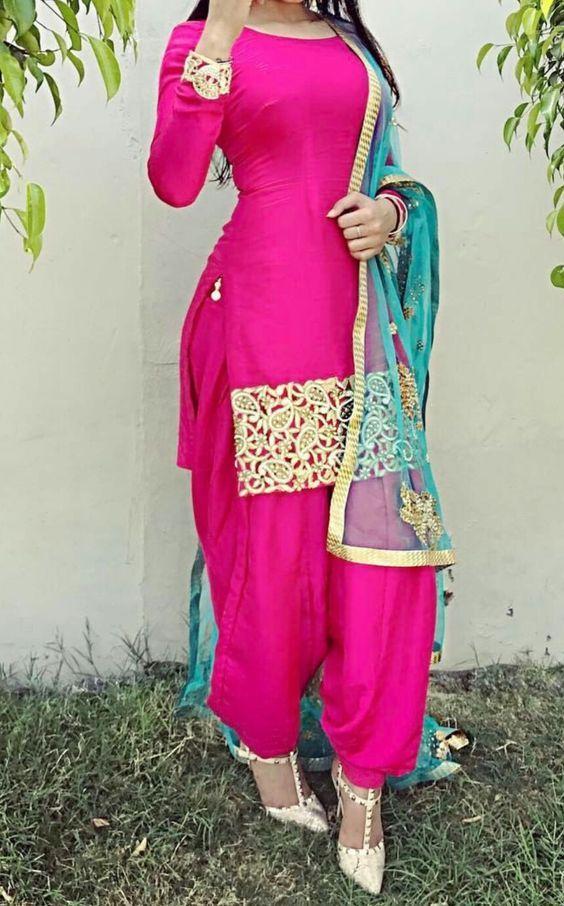 764 best images about punjabi suit on pinterest party for Girls suit design