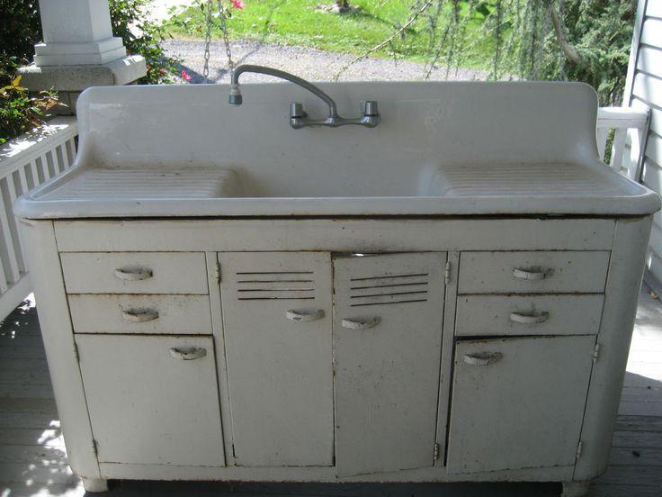 best 25 porcelain kitchen sink ideas on pinterest cleaning porcelain sink porcelain sink and vintage kitchen sink - Kitchen Sink Porcelain