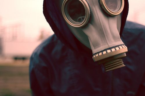 boy, cool, gas mask, photography