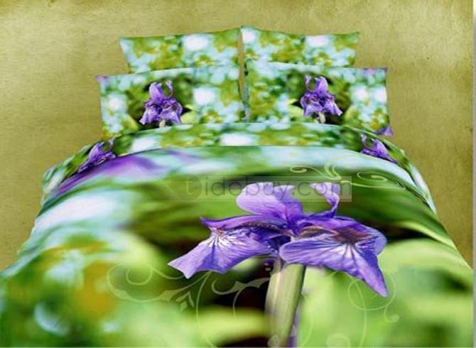 17 meilleures id es propos de couettes violettes sur pinterest courtepoin - Housse de couette orchidee ...