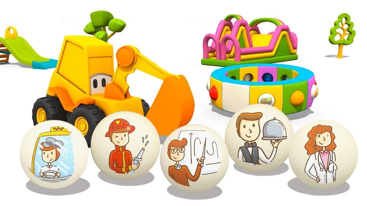 Cartoni animati per bambini   L'escavatore Max: Che cosa vuoi fare da gr...