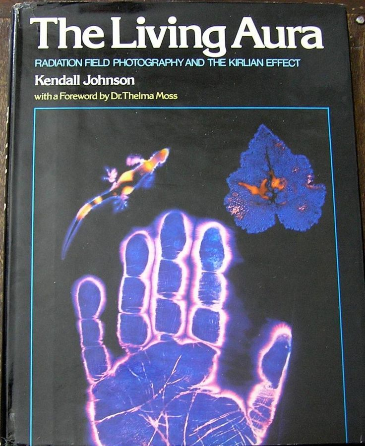 The living aura - Radiation field photography and the Kirlian effect