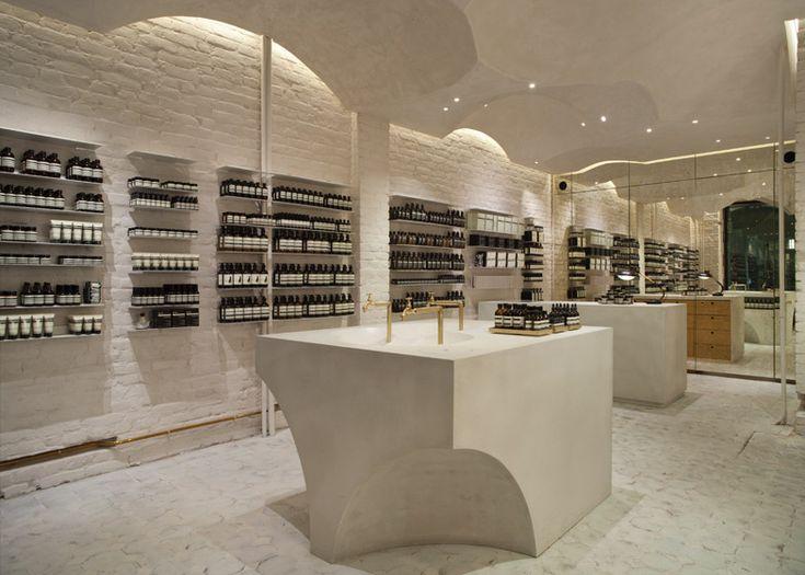 Snhetta Designs Aesops 100th Store