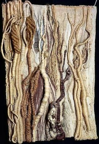 Image result for textile art trees