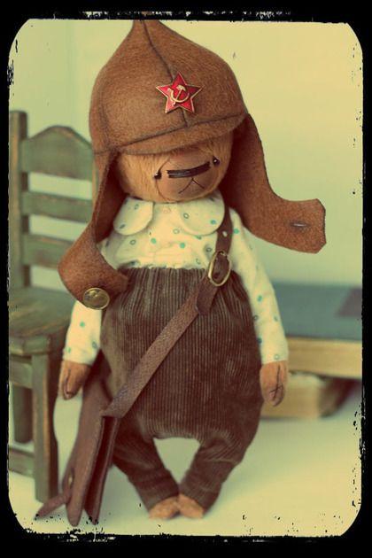Мишки Тедди ручной работы. Ярмарка Мастеров - ручная работа. Купить Тимур. Handmade. Рыжий, тимур и его команда, шерстепон