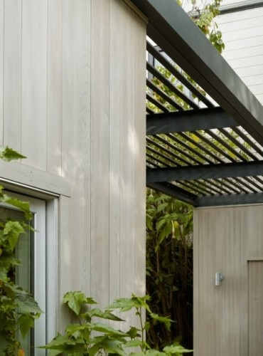 modern exterior by Cary Bernstein Architect